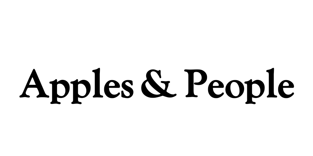 Apples and People