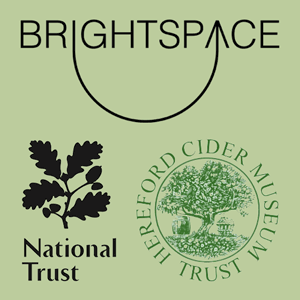 Brightspace Foundation, the Cider Museum and the National Trust in Herefordshire