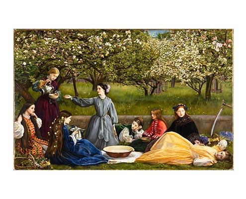 John Everett Millais, Spring (Apple Blossoms) 1856-59 © Lady Lever Art Gallery