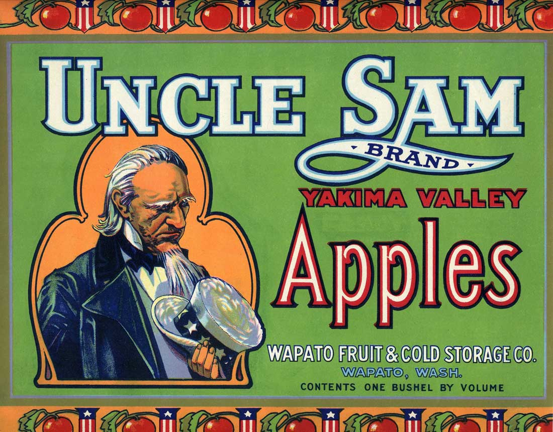 Fruit Label © Wenatchee Valley Museum and Cultural Center