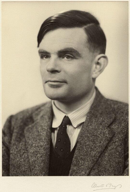 Alan Turing - © Elliott & Fry 1951 National Portrait Gallery