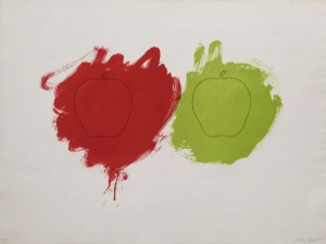 Billy Apple® - Cut 1964, offset lithograph on T.H. Saunders paper, edition of 25 Courtesy of The Mayor Gallery, London © Billy Apple®