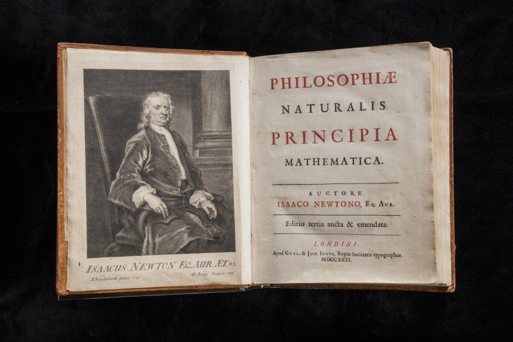 Isaac Newton Principia Mathematica © National Trust Images James Dobson