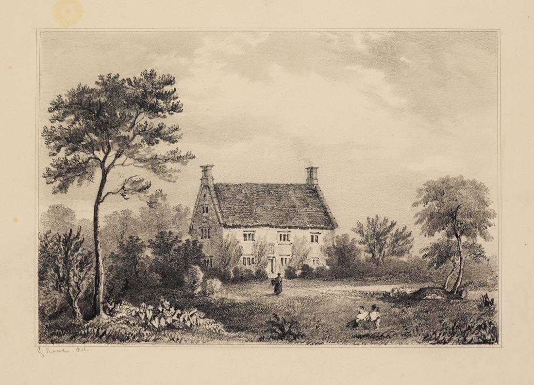 George Rowe - Woolsthorpe Manor c1840 © The Royal Society