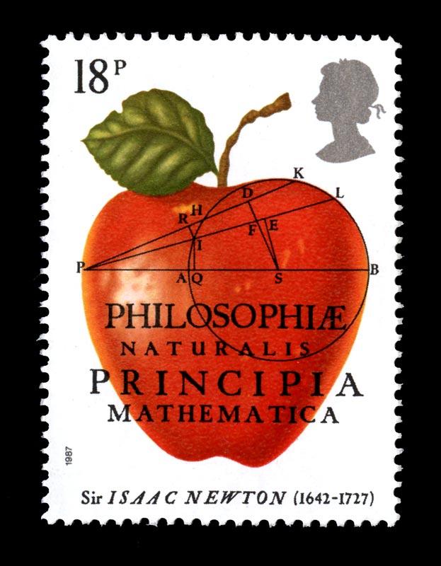 Principia Mathematica 1987 Stamp Design © Royal Mail Group Limited