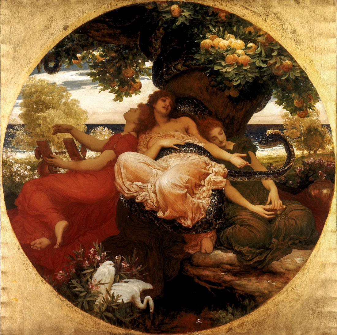 Frederic Lord Leighton - The Garden of the Hesperides 1892 © Courtesy National Museums Liverpool, Lady Lever Art Gallery