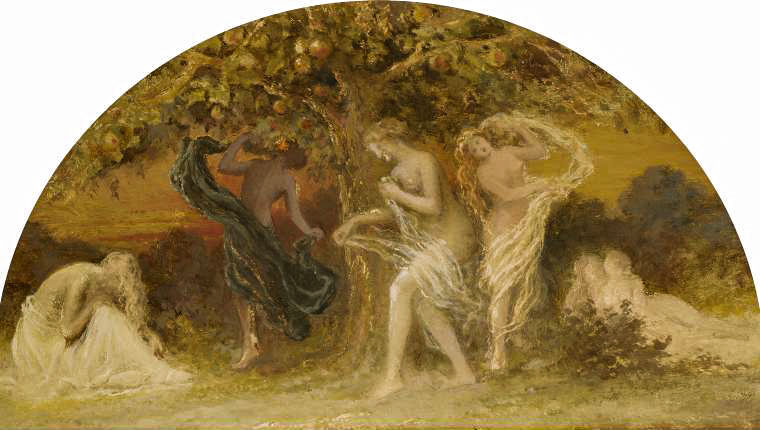 Edward Calvert - Hesperides, 'Dance around the Golden Tree' after 1850 © Fitzwilliam Museum
