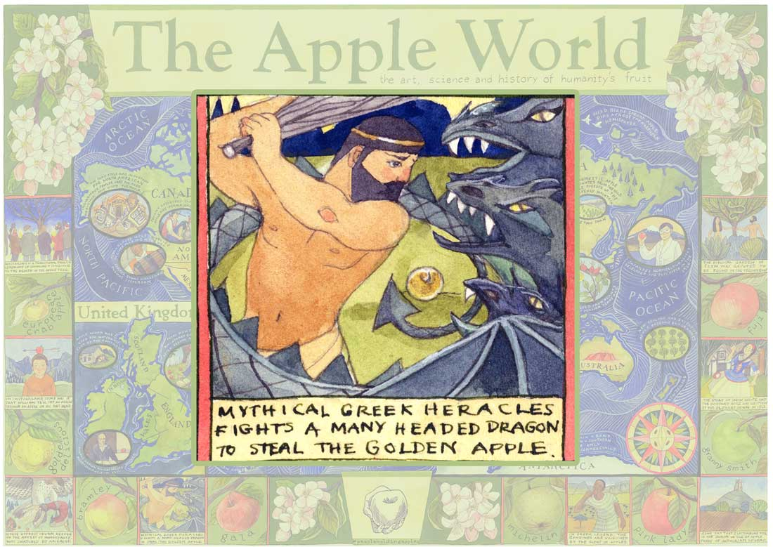 Heracles and The Golden Apple