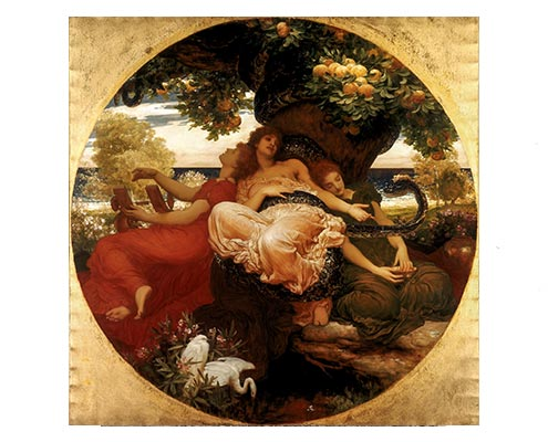 Frederic Leighton - Garden of Hesperides (1892) © Courtesy National Museums Liverpool, Lady Lever Art Gallery
