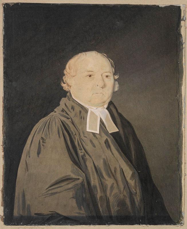 Richard Read junior (poss) - Rev Samuel Marsden 1833 © Mitchell Library, State Library New South Wales, Australia