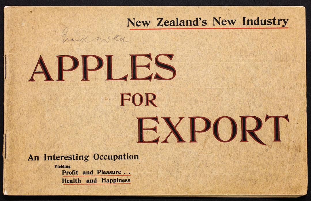 Arthur McKee – Apples for Export 1910 © Nelson Provincial Museum - Pupuri Taonga o Te Tai Ao