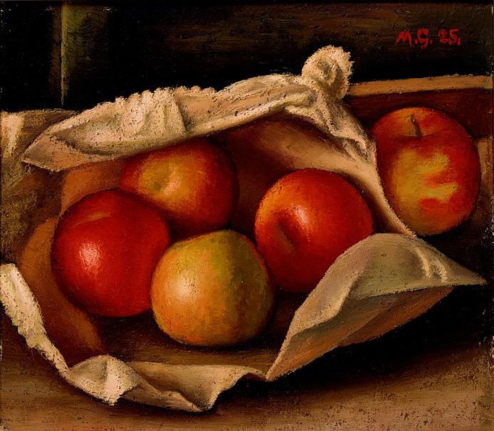 Mark Gertler - Apples in a Bag 1925 © Ashmolean Museum, University of Oxford