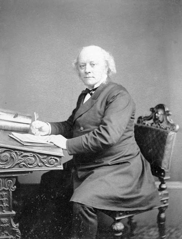 Dr Henry Graves Bull, 1818 - 1885 © Herefordshire Libraries, Herefordshire History project www.herefordshirehistory.org.uk
