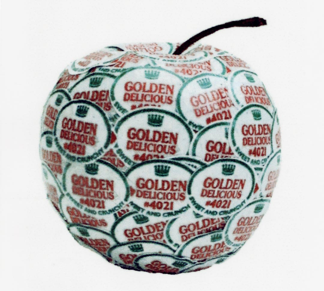 Anne Rook - Golden Delicious 4021. Part of Golden Delicious series 2002 © the artist